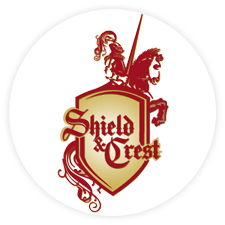 Buy Battle Shields Coat-of-Arms from Shield and Crest