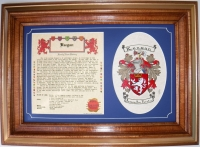 Gift Set - Parchment [Framed]