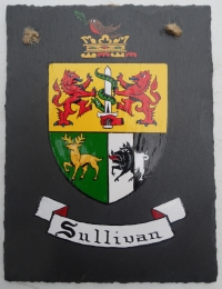 Hand-Painted Irish Slate